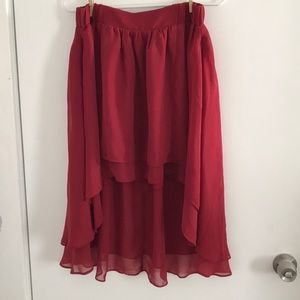 Urban outfitters high low skirt